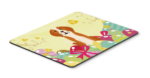 Buy this Easter Eggs English Foxhound Mouse Pad, Hot Pad or Trivet BB6110MP