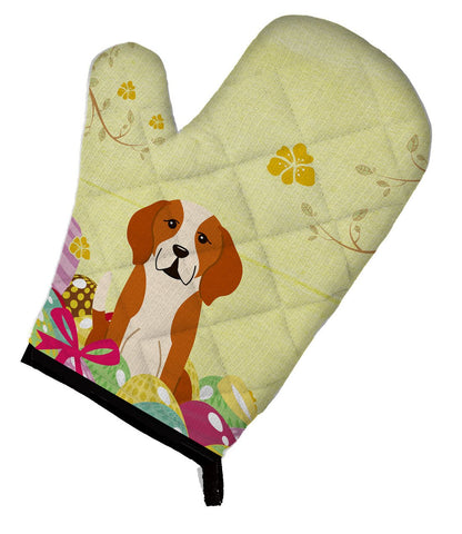 Buy this Easter Eggs English Foxhound Oven Mitt BB6110OVMT