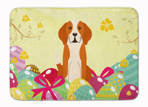 Buy this Easter Eggs English Foxhound Machine Washable Memory Foam Mat BB6110RUG