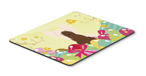 Buy this Easter Eggs Chinese Crested Cream Mouse Pad, Hot Pad or Trivet BB6113MP