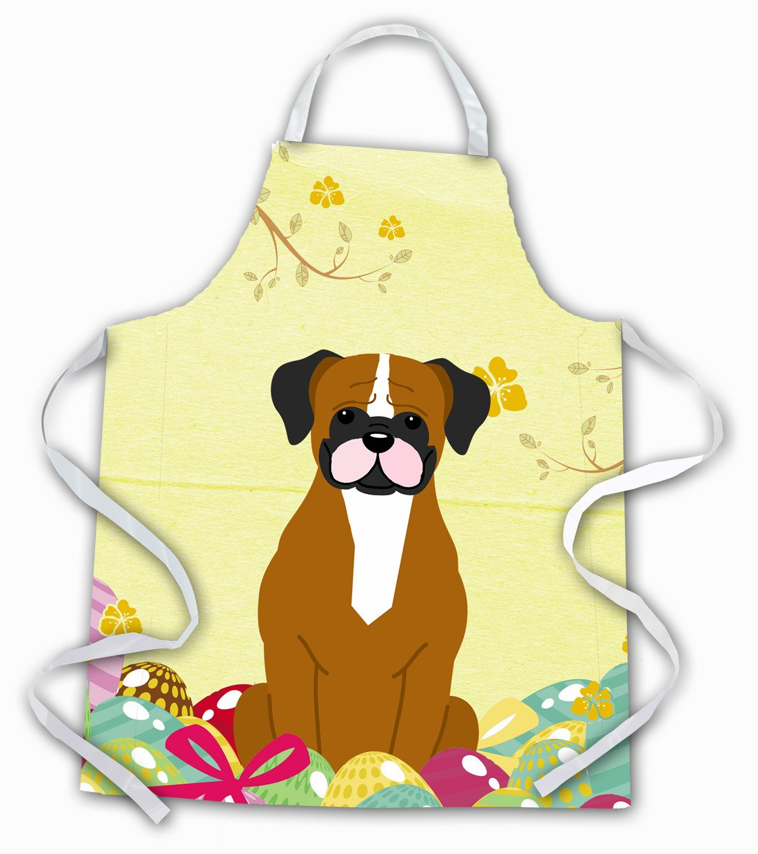 Easter Eggs Flashy Fawn Boxer Apron BB6116APRON by Caroline's Treasures