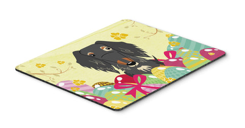 Buy this Easter Eggs Wire Haired Dachshund Dapple Mouse Pad, Hot Pad or Trivet BB6128MP