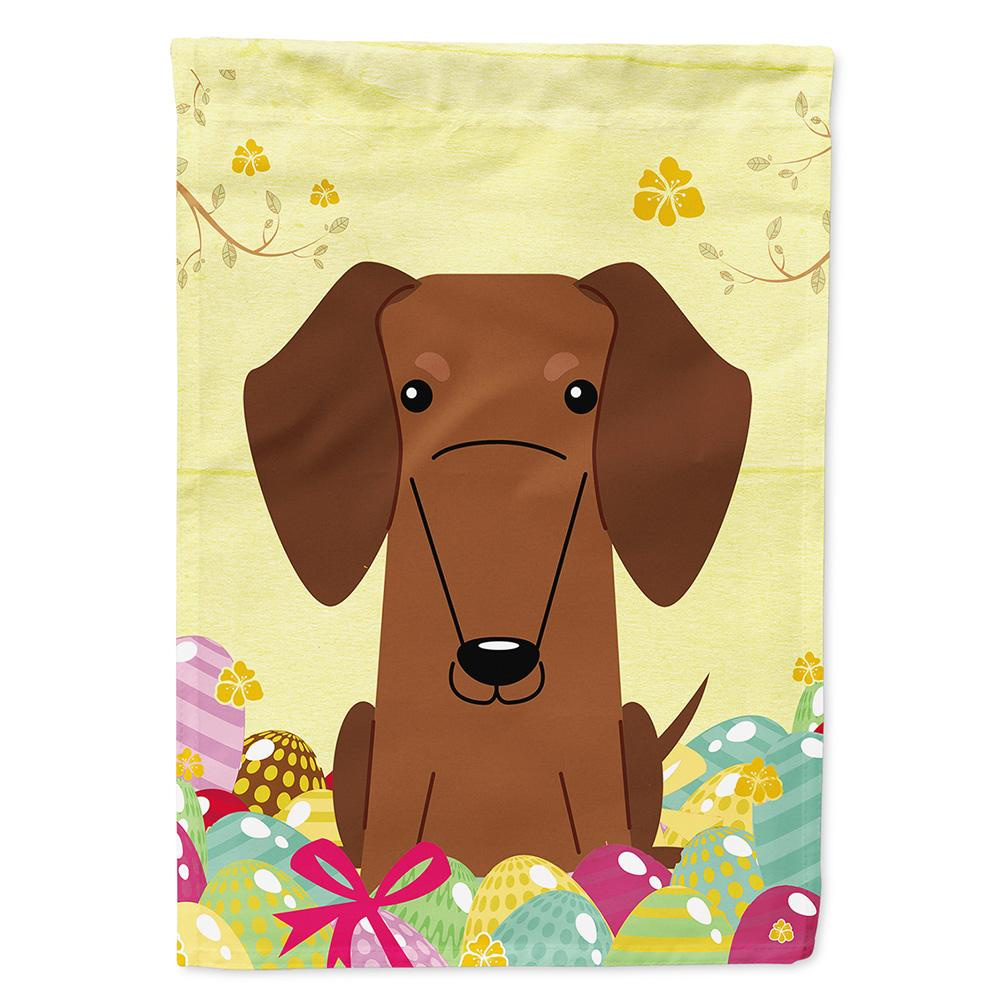 Buy this Easter Eggs Dachshund Red Brown Flag Garden Size BB6130GF