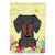 Buy this Easter Eggs Dachshund Black Tan Flag Garden Size BB6132GF