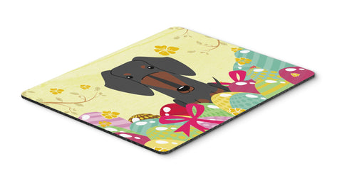 Buy this Easter Eggs Dachshund Black Tan Mouse Pad, Hot Pad or Trivet BB6132MP