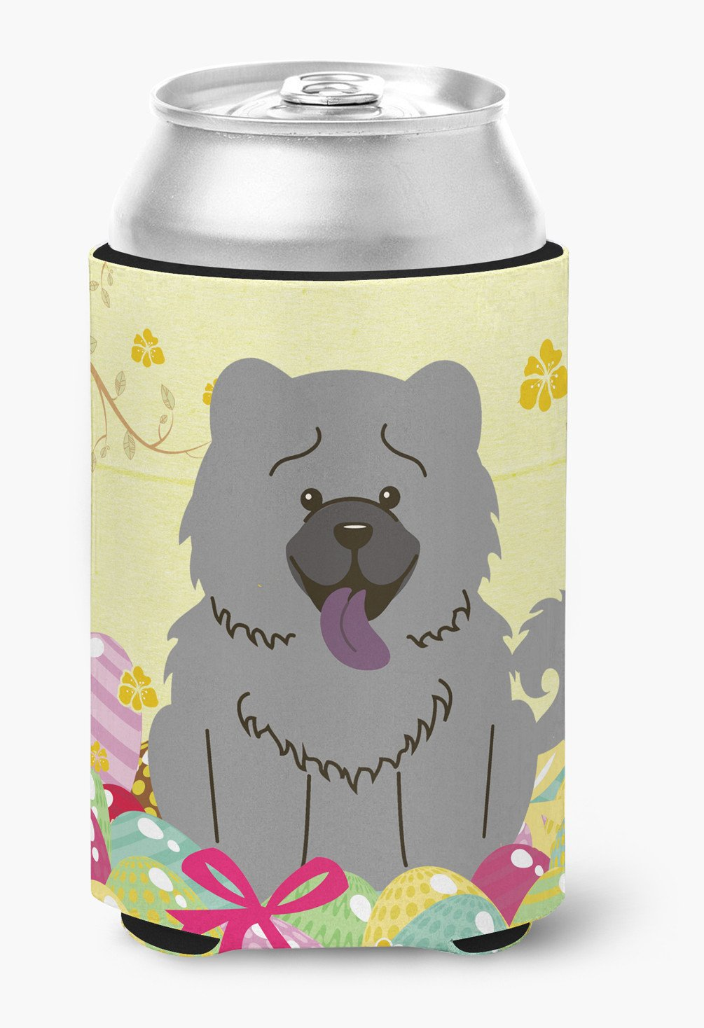Easter Eggs Chow Chow Blue Can or Bottle Hugger BB6139CC by Caroline's Treasures