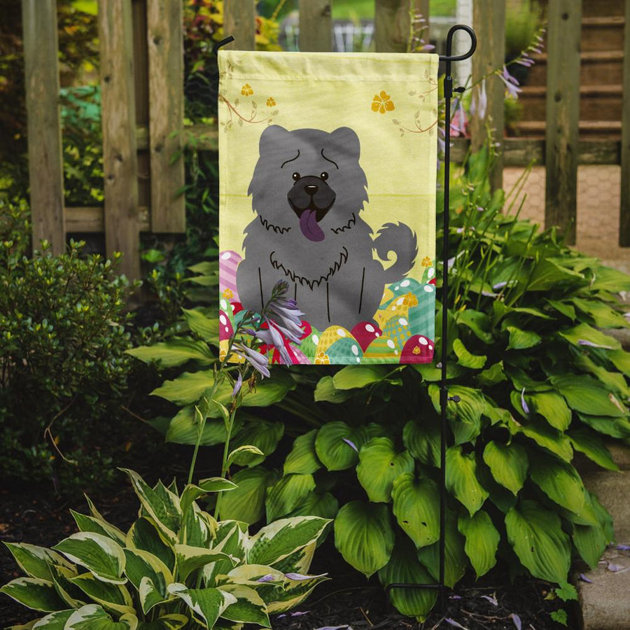 Buy this Easter Eggs Chow Chow Blue Flag Garden Size BB6139GF