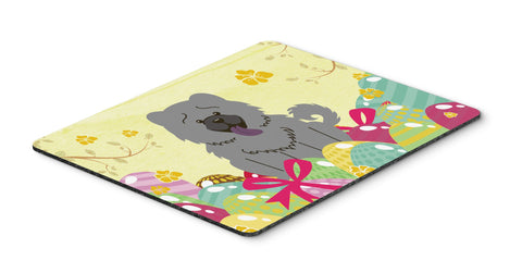 Buy this Easter Eggs Chow Chow Blue Mouse Pad, Hot Pad or Trivet BB6139MP