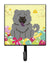 Buy this Easter Eggs Chow Chow Blue Leash or Key Holder BB6139SH4