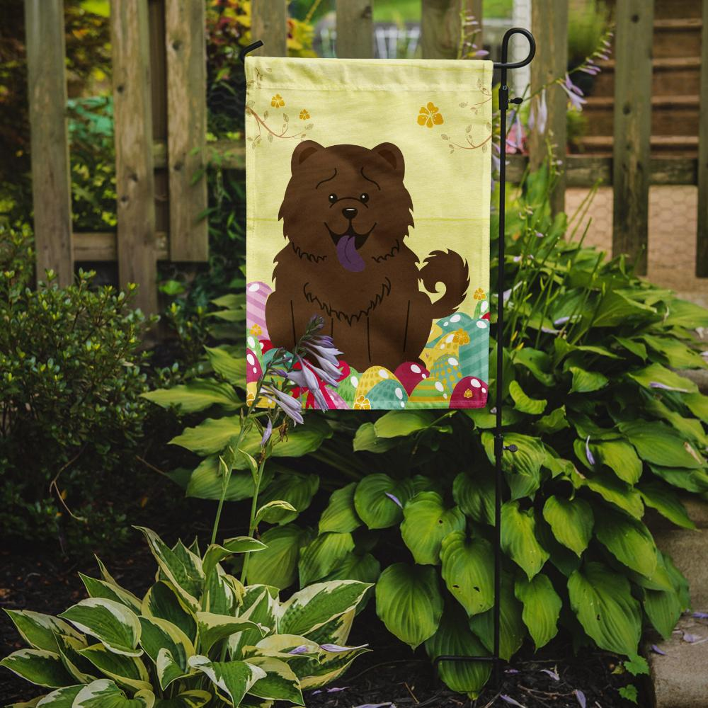 Easter Eggs Chow Chow Chocolate Flag Garden Size BB6141GF by Caroline's Treasures