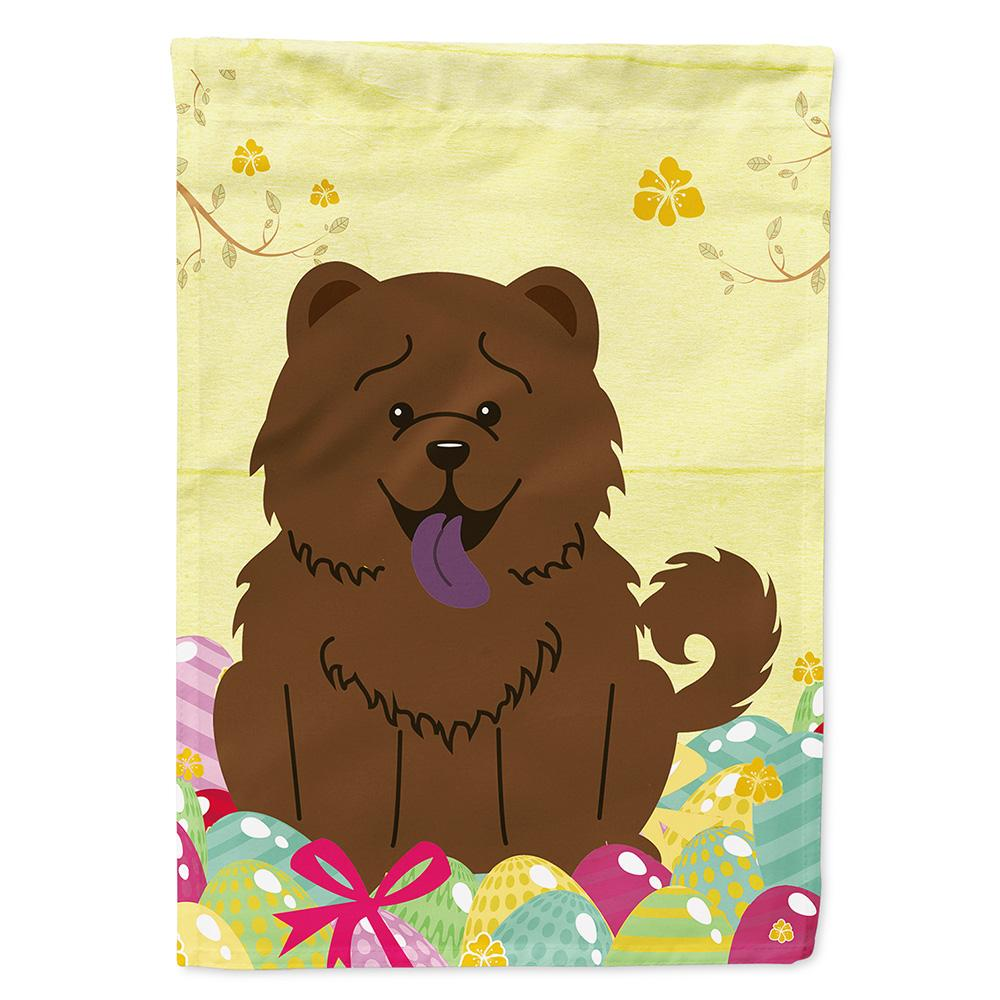 Buy this Easter Eggs Chow Chow Chocolate Flag Garden Size BB6141GF