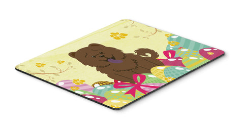 Buy this Easter Eggs Chow Chow Chocolate Mouse Pad, Hot Pad or Trivet BB6141MP