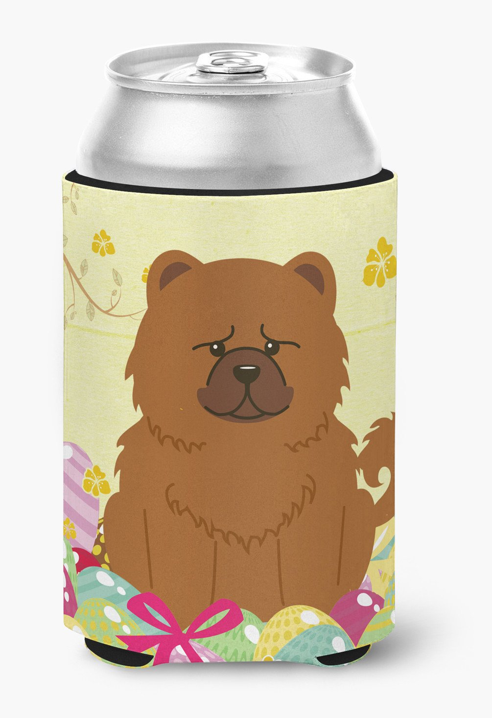 Easter Eggs Chow Chow Red Can or Bottle Hugger BB6142CC by Caroline's Treasures