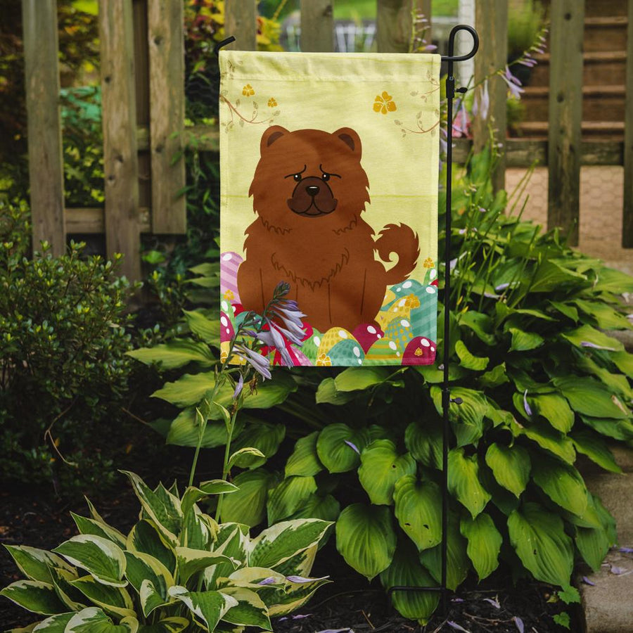 Buy this Easter Eggs Chow Chow Red Flag Garden Size BB6142GF