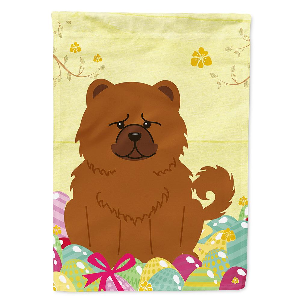 Easter Eggs Chow Chow Red Flag Garden Size BB6142GF by Caroline's Treasures