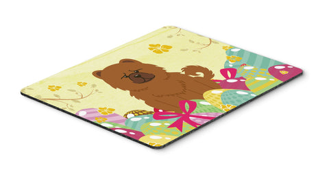 Buy this Easter Eggs Chow Chow Red Mouse Pad, Hot Pad or Trivet BB6142MP