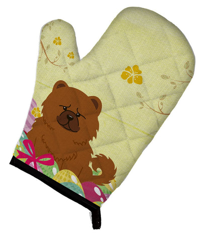 Buy this Easter Eggs Chow Chow Red Oven Mitt BB6142OVMT