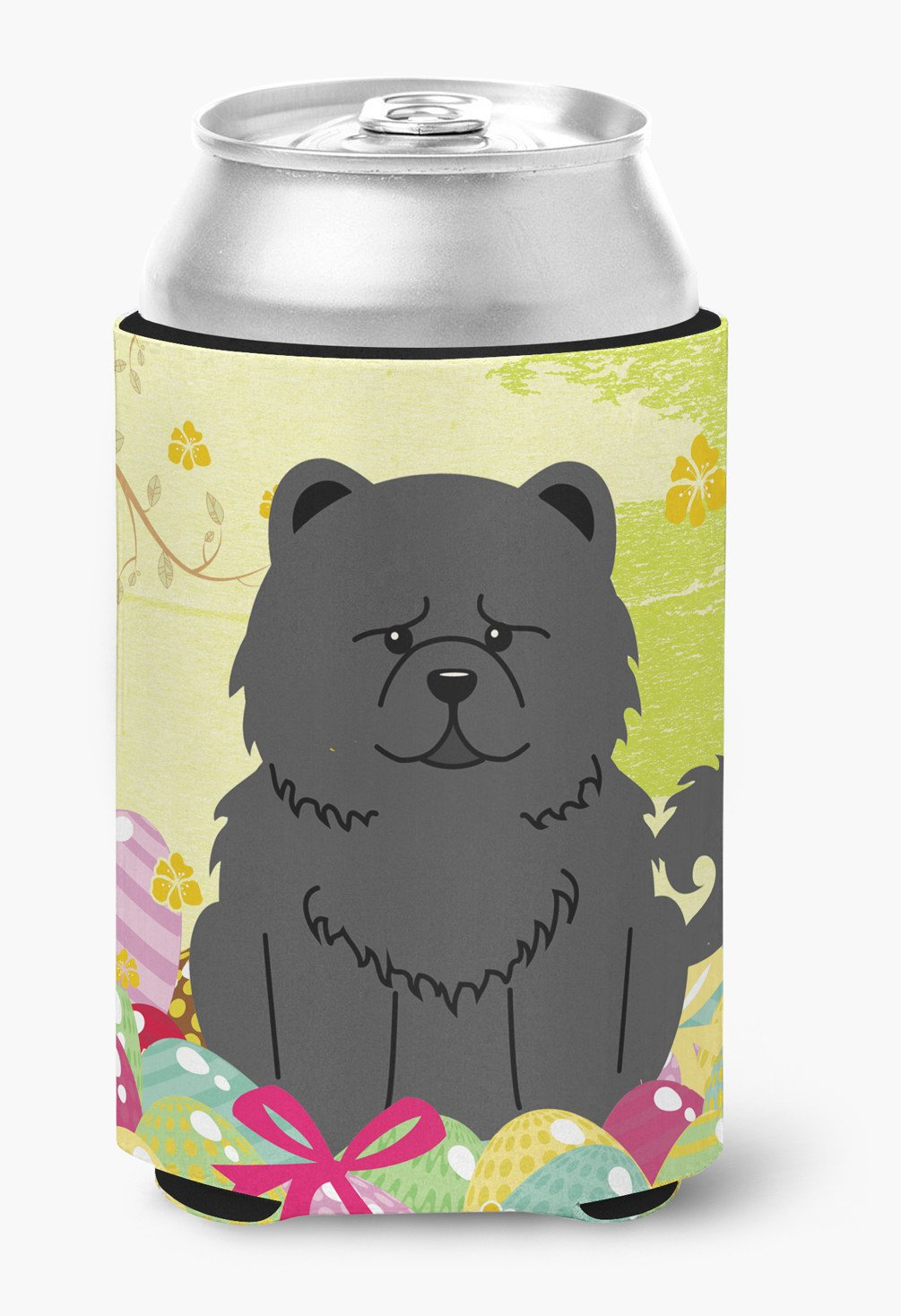 Easter Eggs Chow Chow Black Can or Bottle Hugger BB6143CC by Caroline's Treasures