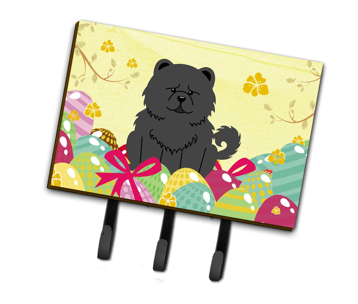 Buy this Easter Eggs Chow Chow Black Leash or Key Holder BB6143TH68
