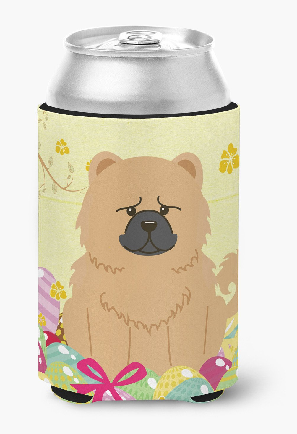 Easter Eggs Chow Chow Cream Can or Bottle Hugger BB6144CC by Caroline's Treasures