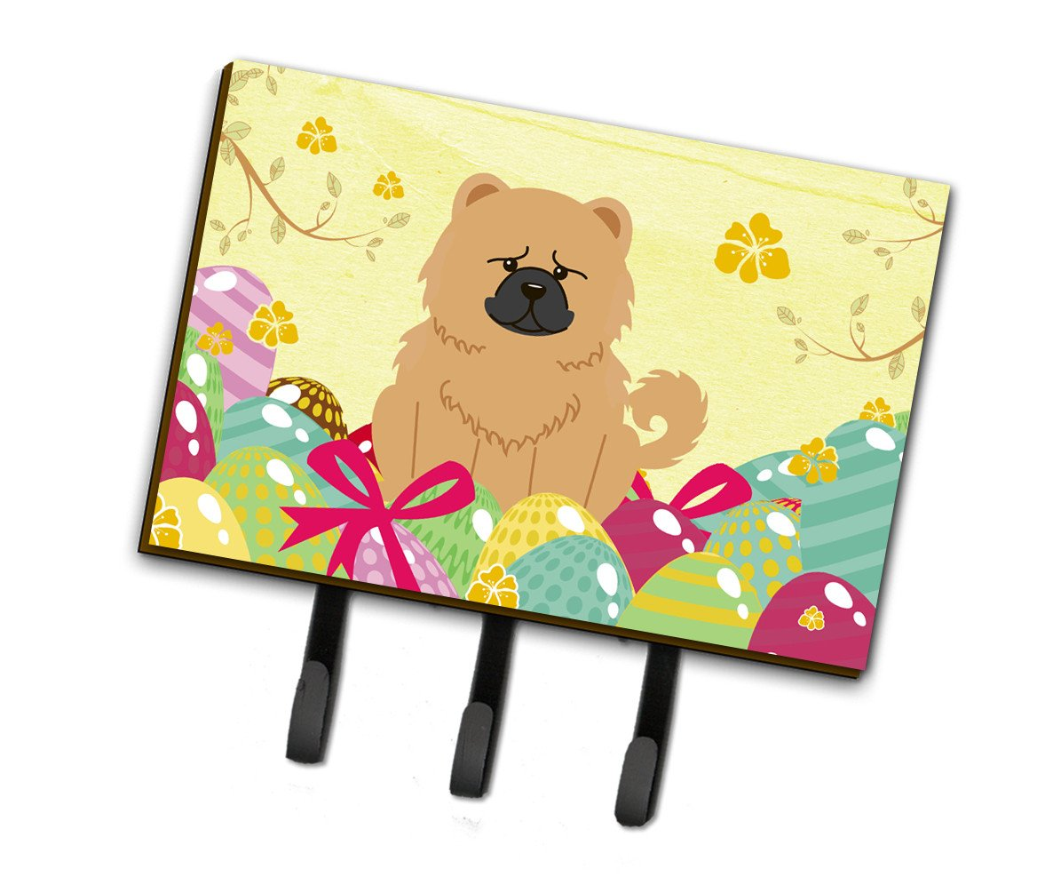 Easter Eggs Chow Chow Cream Leash or Key Holder BB6144TH68 by Caroline's Treasures