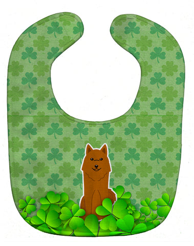 Buy this Karelian Bear Dog Shamrocks Baby Bib BB6163BIB