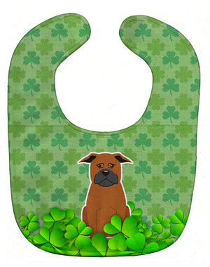 Buy this Chinese Chongqing Dog Shamrocks Baby Bib