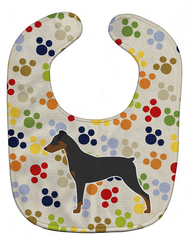 Buy this German Pinscher Pawprints Baby Bib BB6318BIB