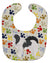 Japanese Chin Pawprints Baby Bib BB6342BIB by Caroline's Treasures