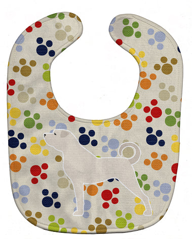 Buy this Anatolian Shepherd Pawprints Baby Bib BB6382BIB
