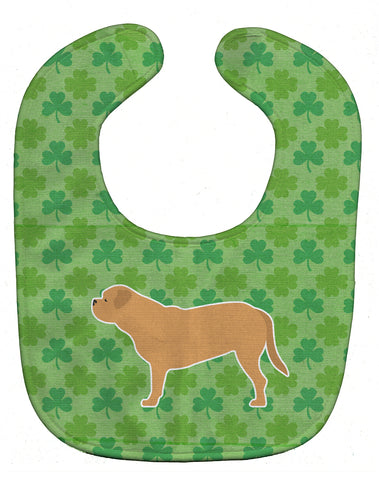 Buy this Dogue de Bordeaux Shamrocks  Baby Bib BB6475BIB