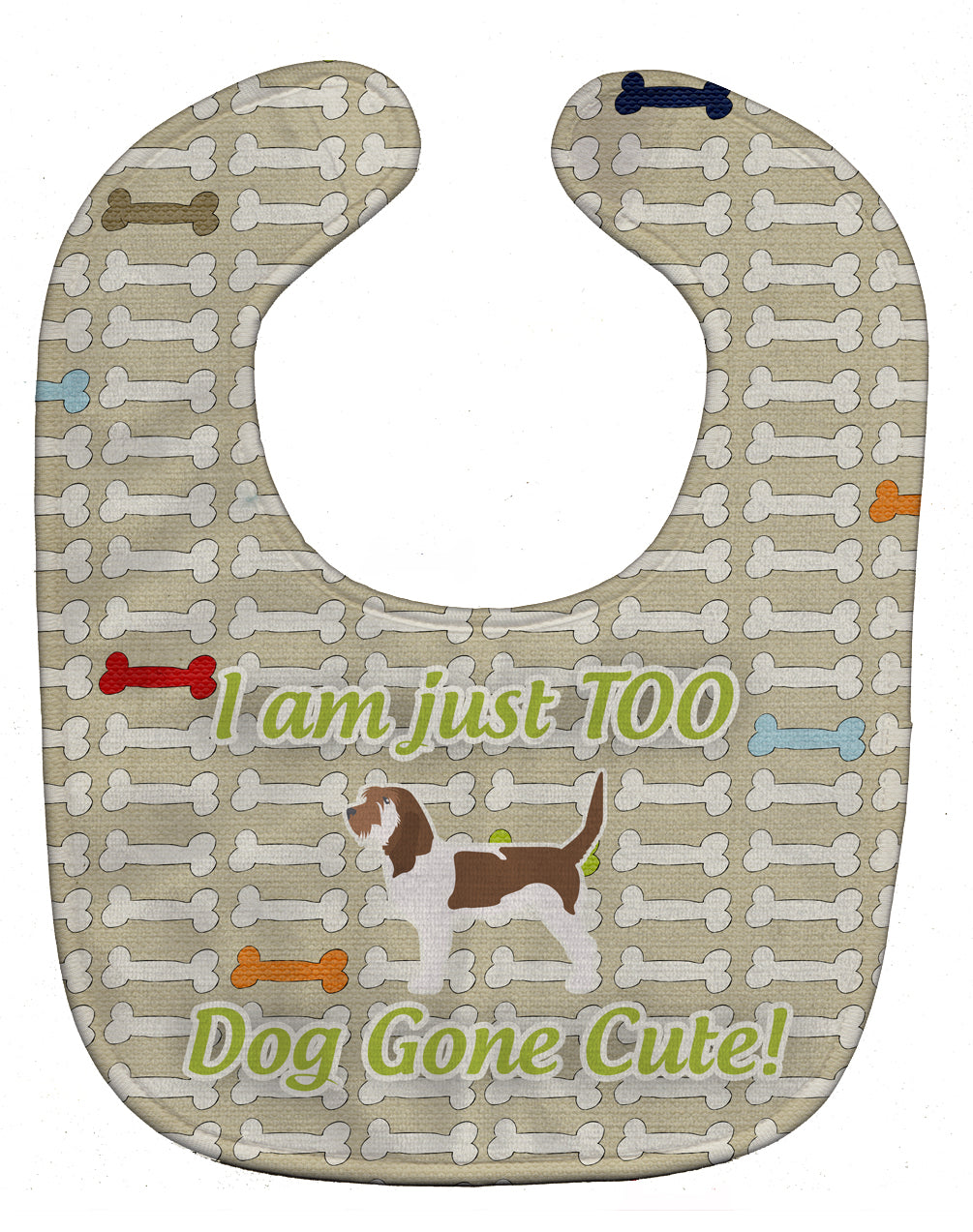 Grand Basset Griffon Vendeen Dog Gone Cute Baby Bib BB6495BIB by Caroline's Treasures