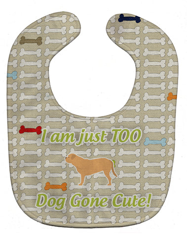 Buy this Dogue de Bordeaux Dog Gone Cute Baby Bib BB6575BIB
