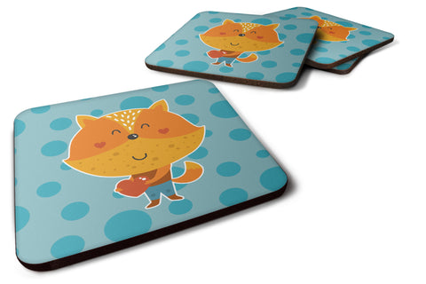 Buy this Polkadot Squirrel Foam Coaster Set of 4 BB6729FC