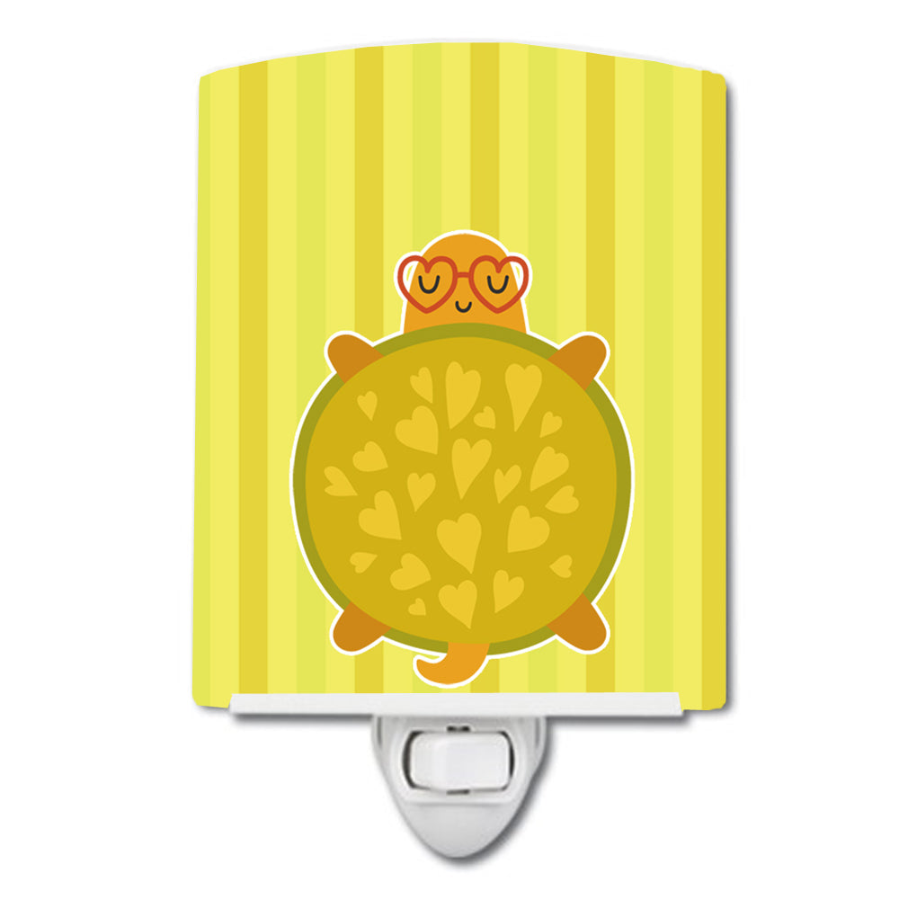 Turtle with Glasses Ceramic Night Light BB6736CNL by Caroline's Treasures