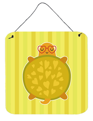 Buy this Turtle with Glasses Wall or Door Hanging Prints BB6736DS66