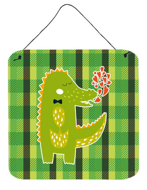 Buy this Alligator Love Wall or Door Hanging Prints BB6741DS66
