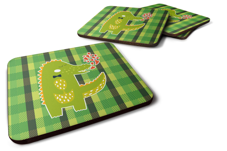 Buy this Alligator Love Foam Coaster Set of 4 BB6741FC