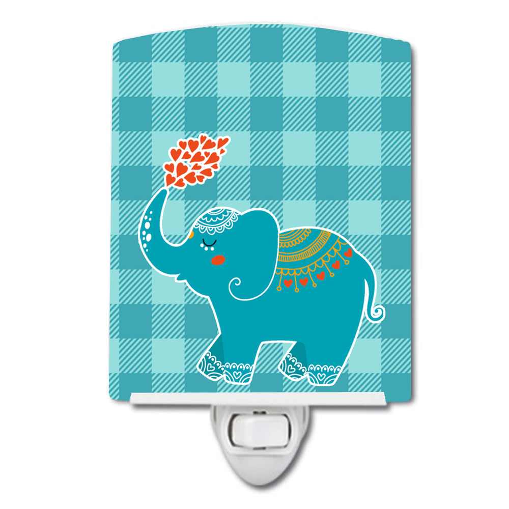 Buy this Elephant Love Ceramic Night Light BB6744CNL