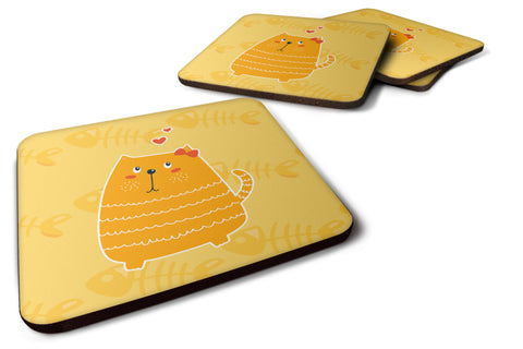 Buy this Fat Cat Love Foam Coaster Set of 4 BB6746FC