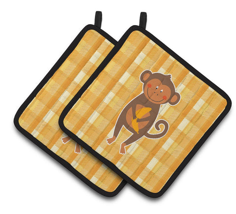Buy this Monkey Business Pair of Pot Holders BB6753PTHD