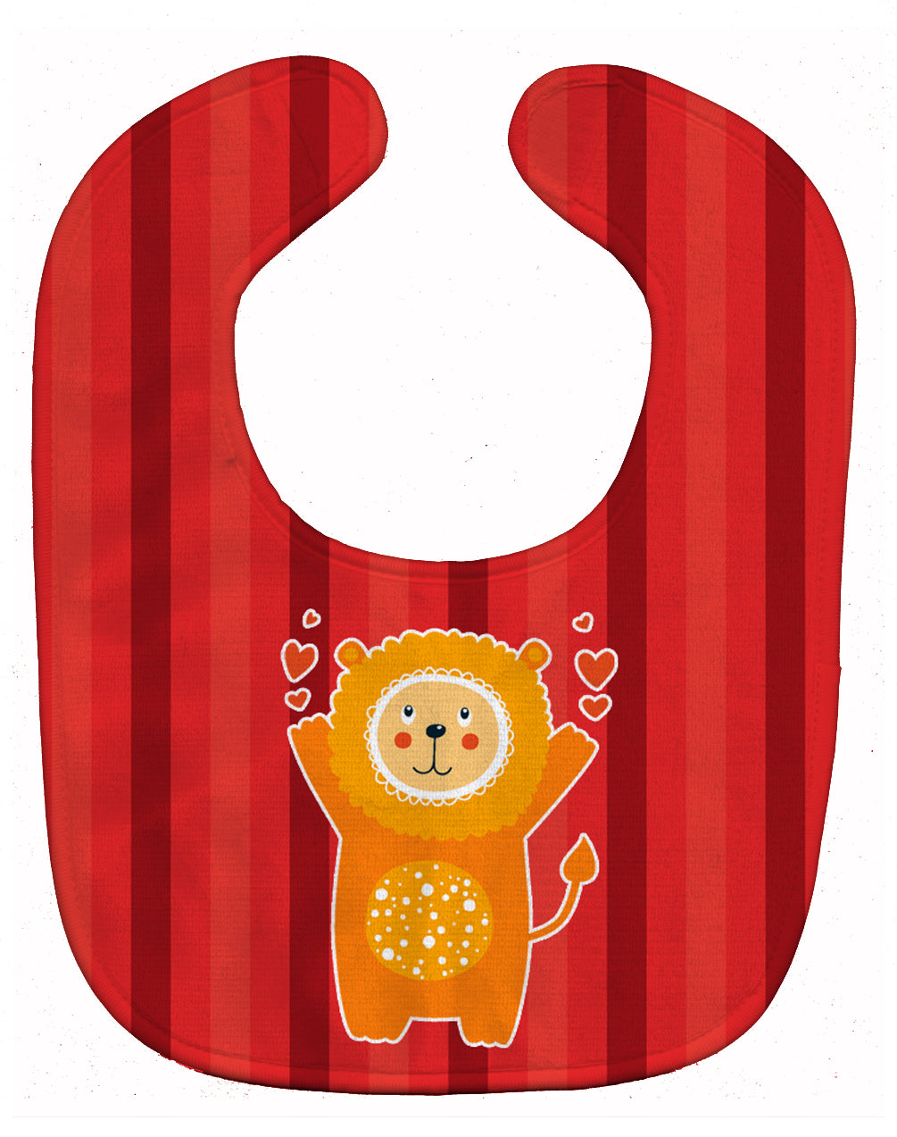 Lion Love Baby Bib BB6754BIB by Caroline's Treasures