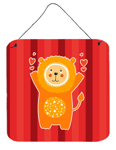 Buy this Lion Love Wall or Door Hanging Prints BB6754DS66