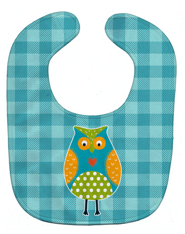 Buy this Owl on Blue Plaid Baby Bib BB6755BIB