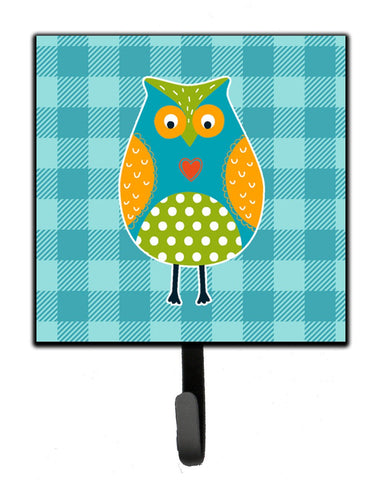 Buy this Owl on Blue Plaid Leash or Key Holder BB6755SH4