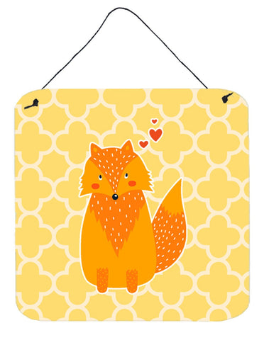 Buy this Foxy Love Wall or Door Hanging Prints BB6758DS66