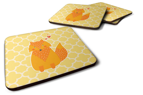 Buy this Foxy Love Foam Coaster Set of 4 BB6758FC