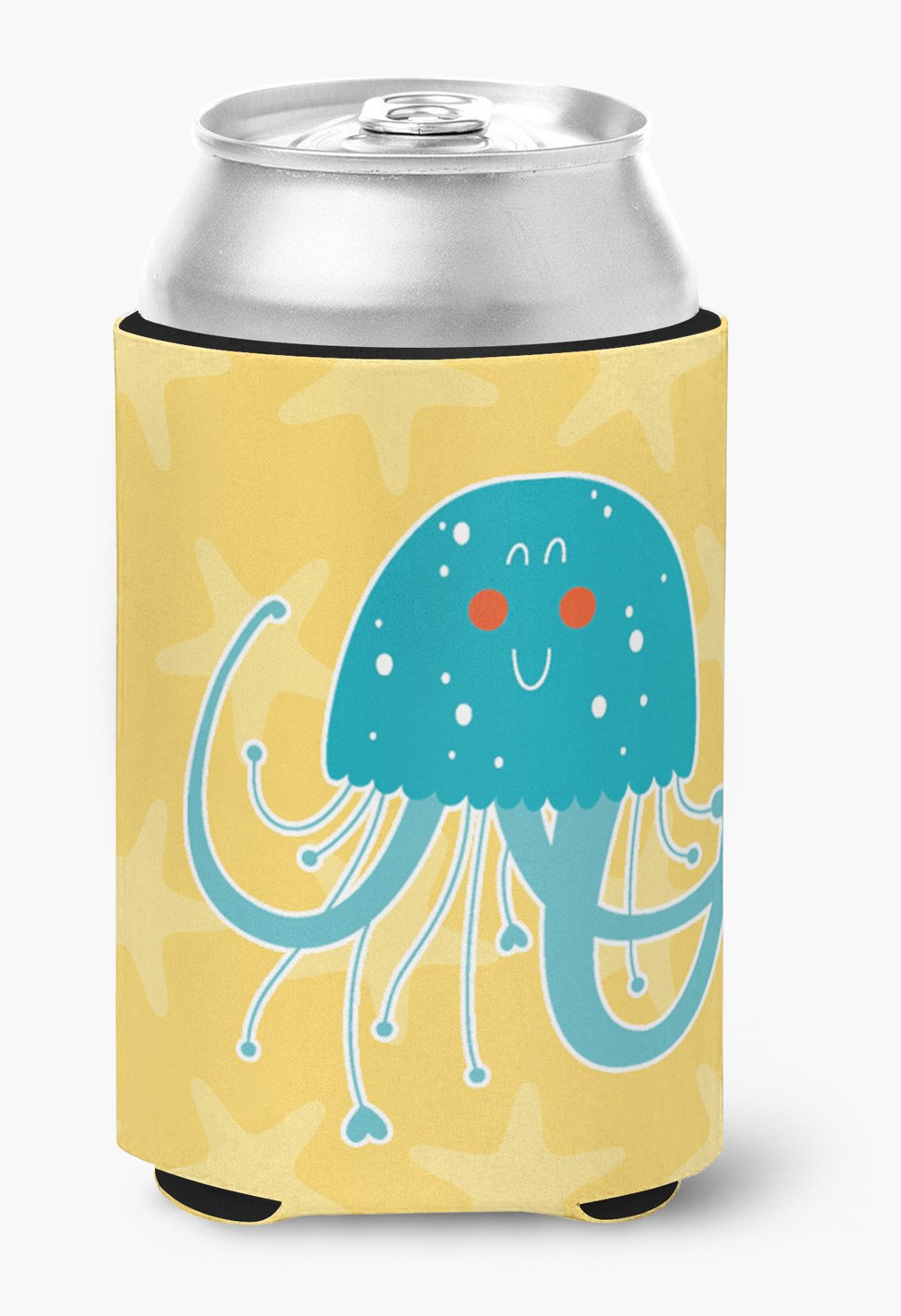 Jellyfish Can or Bottle Hugger BB6767CC by Caroline's Treasures