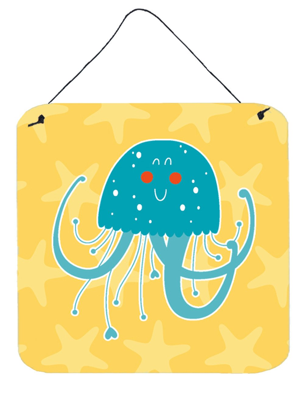Jellyfish Wall or Door Hanging Prints BB6767DS66 by Caroline's Treasures