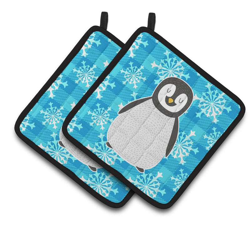Buy this Penguin Pair of Pot Holders BB6771PTHD